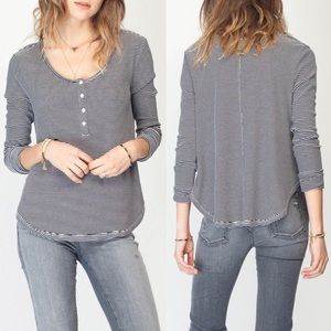 Anthropologie Gentle Fawn Striped Guide Top Medium